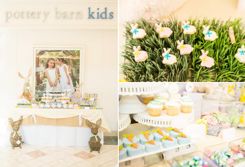 Easter Peter Rabbit Party for Pottery Barn Kids via Kara's Party Ideas karaspartyideas.com #Easter #Pottery #barn #kids #party #ideas #idea #spring #cake #decorations #birthday #celebration