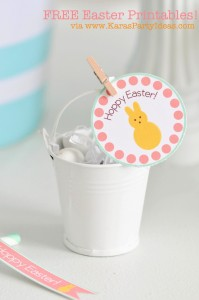 FREE Easter Party Printable Tags + Cupcake Toppers via Kara's Party Ideas KarasPartyIdeas.com-10 (2)