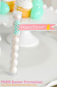 FREE Easter Party Printable Tags + Cupcake Toppers via Kara's Party Ideas KarasPartyIdeas.com-10 (5)