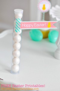 FREE Easter Party Printable Tags + Cupcake Toppers via Kara's Party Ideas KarasPartyIdeas.com-10 (4)