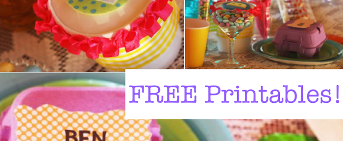 Fanciful Easter themed party with FREE PRINTABLES via Kara's Party Ideas karaspartyideas.com #fanciful #sparkle #easter #spring #bunny #party #ideas #food #decor #dessert #treats #favors (1)
