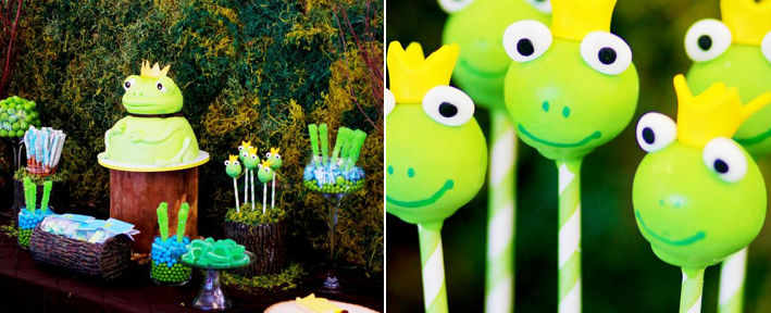 Frog Prince Baby Shower via Kara's Party Ideas karaspartyideas.com #frog #prince #baby #shower #idea #birthday #party #ideas #cake #decorations #supplies (1)