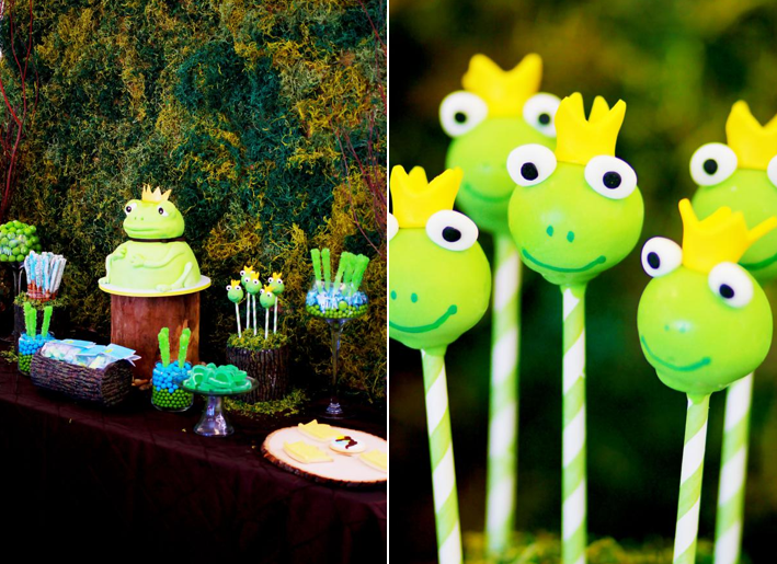 Frog Prince Baby Shower via Kara's Party Ideas karaspartyideas.com #frog #prince #baby #shower #idea #birthday #party #ideas #cake #decorations #supplies