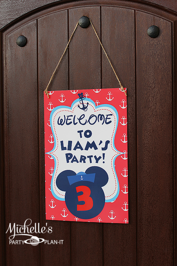 Karas party ideas nautical boat mickey mouse boy disney birthday this is what michelle said about planning the party my little fella loves mickey mouse filmwisefo Gallery