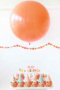 Orange Cat + Kitty Themed Birthday Party via Kara's Party Ideas karaspartyideas.com toddler craft idea (2)