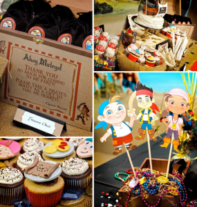 Jake and the neverland pirates themed birthday party via Kara's Party Ideas karaspartyideas.com #jake #neverland #pirates #cake #party #idea (1)