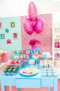 LalaLoopsy themed birthday party via Kara's Party IDeas karaspartyideas.com #lala #loopsy #party #themed #ideas #cake #idea (11)