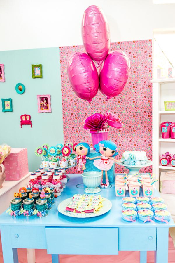 LalaLoopsy Themed Birthday Party Via Karas IDeas Karaspartyideas Lala Loopsy