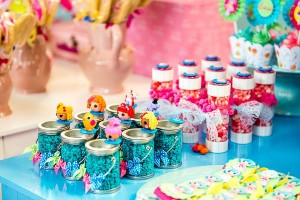 LalaLoopsy themed birthday party via Kara's Party IDeas karaspartyideas.com #lala #loopsy #party #themed #ideas #cake #idea (9)