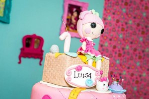 LalaLoopsy themed birthday party via Kara's Party IDeas karaspartyideas.com #lala #loopsy #party #themed #ideas #cake #idea (8)
