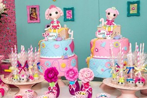 LalaLoopsy themed birthday party via Kara's Party IDeas karaspartyideas.com #lala #loopsy #party #themed #ideas #cake #idea (7)