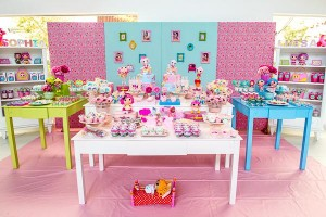 LalaLoopsy themed birthday party via Kara's Party IDeas karaspartyideas.com #lala #loopsy #party #themed #ideas #cake #idea (20)