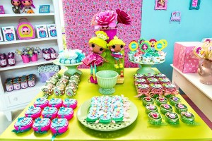 LalaLoopsy themed birthday party via Kara's Party IDeas karaspartyideas.com #lala #loopsy #party #themed #ideas #cake #idea (18)