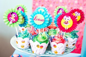LalaLoopsy themed birthday party via Kara's Party IDeas karaspartyideas.com #lala #loopsy #party #themed #ideas #cake #idea (16)