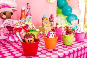 LalaLoopsy themed birthday party via Kara's Party IDeas karaspartyideas.com #lala #loopsy #party #themed #ideas #cake #idea (13)