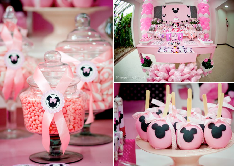 Minnie Mouse Themed Birthday Party Via Karas Ideas Karaspartyideas