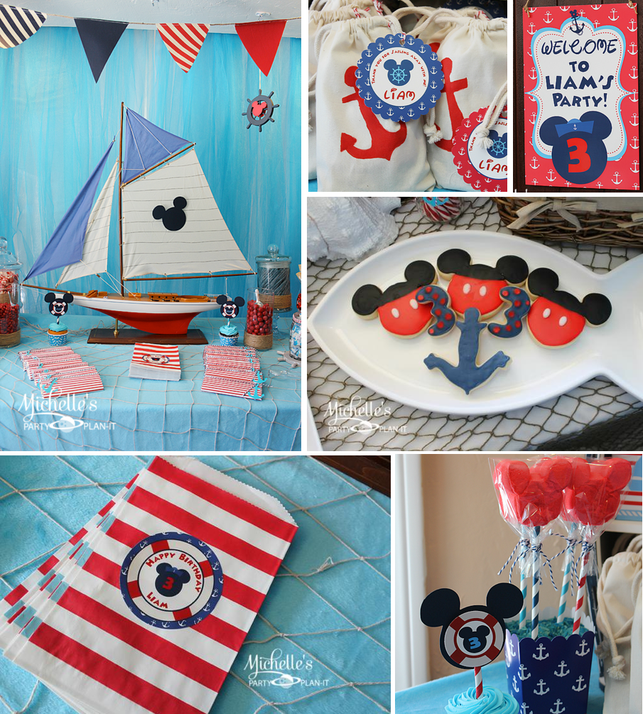 Mickey Mouse Birthday Party Ideas for Boys