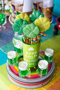 St Patrick's Day Rainbow Luck O The Irish Themed Party via Kara's Party Ideas karaspartyideas.com #st #patrick's #day #party #irish #ideas #supplies #decorations #cake #dessert #treats #kids (45)