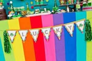 St Patrick's Day Rainbow Luck O The Irish Themed Party via Kara's Party Ideas karaspartyideas.com #st #patrick's #day #party #irish #ideas #supplies #decorations #cake #dessert #treats #kids (49)