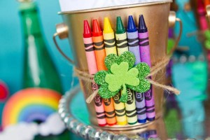 St Patrick's Day Rainbow Luck O The Irish Themed Party via Kara's Party Ideas karaspartyideas.com #st #patrick's #day #party #irish #ideas #supplies #decorations #cake #dessert #treats #kids (36)