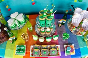 St Patrick's Day Rainbow Luck O The Irish Themed Party via Kara's Party Ideas karaspartyideas.com #st #patrick's #day #party #irish #ideas #supplies #decorations #cake #dessert #treats #kids (20)