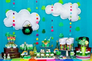 St Patrick's Day Rainbow Luck O The Irish Themed Party via Kara's Party Ideas karaspartyideas.com #st #patrick's #day #party #irish #ideas #supplies #decorations #cake #dessert #treats #kids (17)