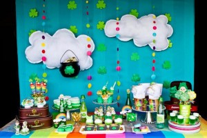 St Patrick's Day Rainbow Luck O The Irish Themed Party via Kara's Party Ideas karaspartyideas.com #st #patrick's #day #party #irish #ideas #supplies #decorations #cake #dessert #treats #kids (16)