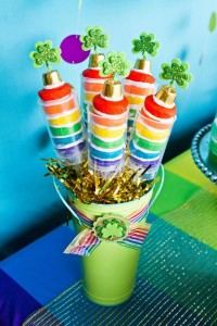 St Patrick's Day Rainbow Luck O The Irish Themed Party via Kara's Party Ideas karaspartyideas.com #st #patrick's #day #party #irish #ideas #supplies #decorations #cake #dessert #treats #kids (47)