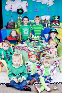 St Patrick's Day Rainbow Luck O The Irish Themed Party via Kara's Party Ideas karaspartyideas.com #st #patrick's #day #party #irish #ideas #supplies #decorations #cake #dessert #treats #kids (4)