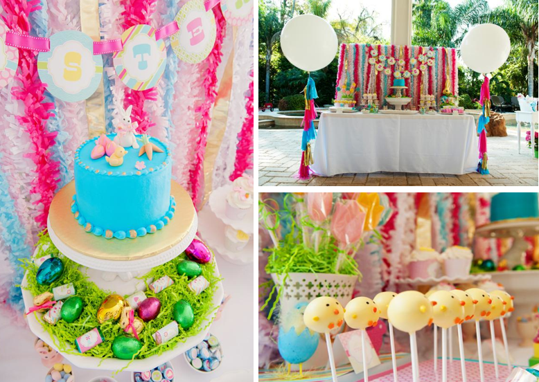 Pastel Easter Themed Spring Party Via Karas Ideas Karaspartyideas Classic