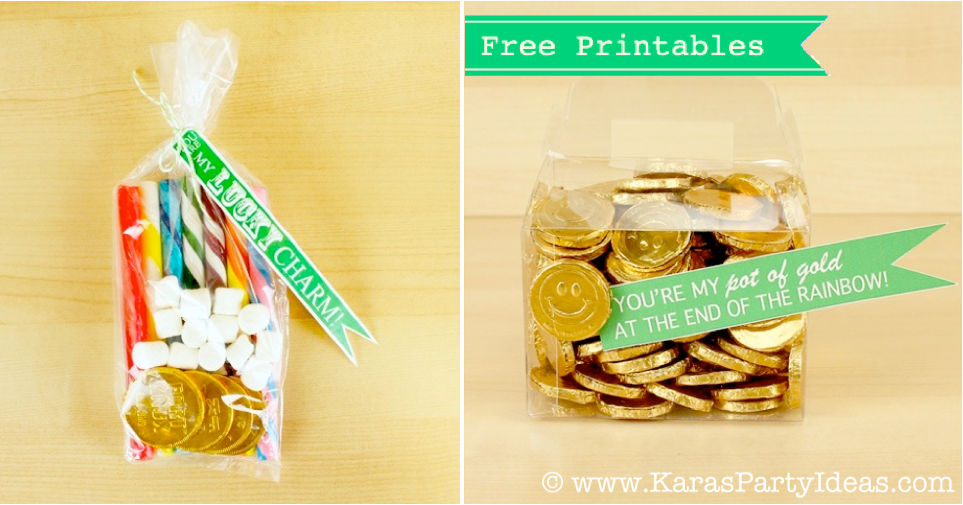Karas Party Ideas Free St Patricks Day Party Printables Gift