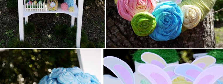 Kids' Pastel Easter Bunny Themed Brunch via Kara's Party Ideas karaspartyideas.com #easter #brunch #dinner #ideas #party #kids #bunny (1)
