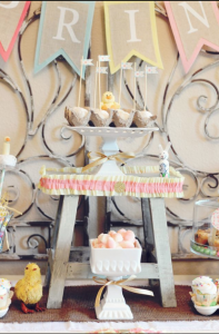 Little Duckling Easter Spring Party via Kara's Party Ideas karaspartyideas.com #easter #spring #little #duckling #party #idea #decor #food #cake (11)