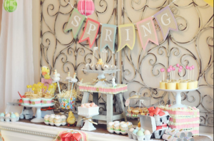 Little Duckling Easter Spring Party via Kara's Party Ideas karaspartyideas.com #easter #spring #little #duckling #party #idea #decor #food #cake (7)