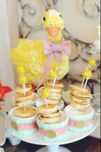 Little Duckling Easter Spring Party via Kara's Party Ideas karaspartyideas.com #easter #spring #little #duckling #party #idea #decor #food #cake (5)