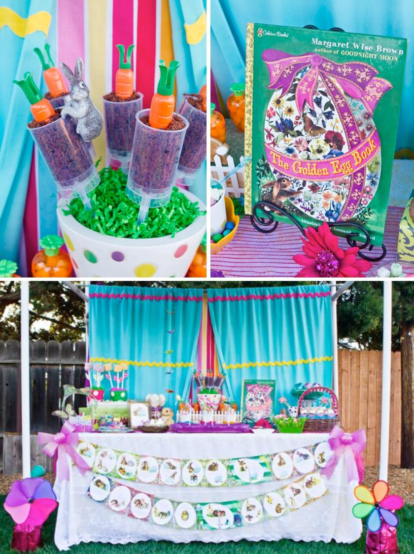 Kara s party ideas quot the golden egg book themed boy girl