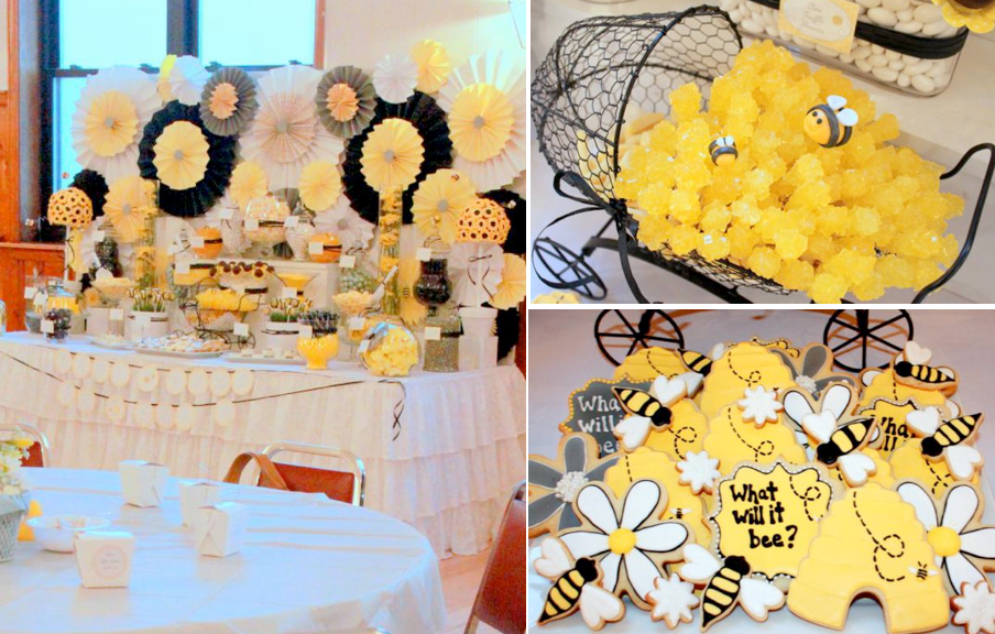 Karas Party Ideas What Will It Bee Bumblebee Gender Neutral Baby