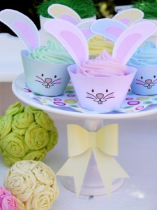 Kids' Pastel Easter Bunny Themed Brunch via Kara's Party Ideas karaspartyideas.com #easter #brunch #dinner #ideas #party #kids #bunny (33)