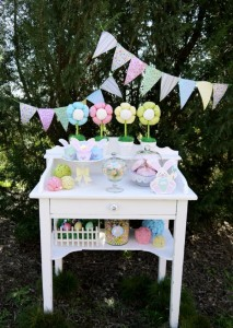 Kids' Pastel Easter Bunny Themed Brunch via Kara's Party Ideas karaspartyideas.com #easter #brunch #dinner #ideas #party #kids #bunny (32)