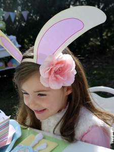 Kids' Pastel Easter Bunny Themed Brunch via Kara's Party Ideas karaspartyideas.com #easter #brunch #dinner #ideas #party #kids #bunny (26)