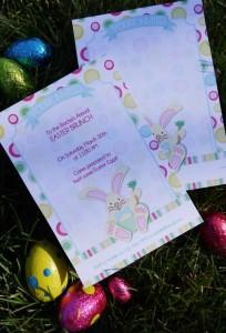 Kids' Pastel Easter Bunny Themed Brunch via Kara's Party Ideas karaspartyideas.com #easter #brunch #dinner #ideas #party #kids #bunny (23)