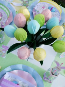 Kids' Pastel Easter Bunny Themed Brunch via Kara's Party Ideas karaspartyideas.com #easter #brunch #dinner #ideas #party #kids #bunny (21)