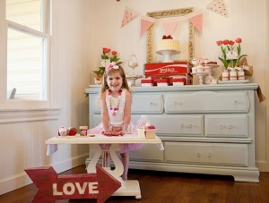 Vintage Strawberry + Strawberry Shortcake themed birthday party via Kara's Party Ideas.com #vintage #strawberry #birthday #party #shortcake #themed #girl #1st #baby #shower #planning #ideas #cake #idea #decor (20)