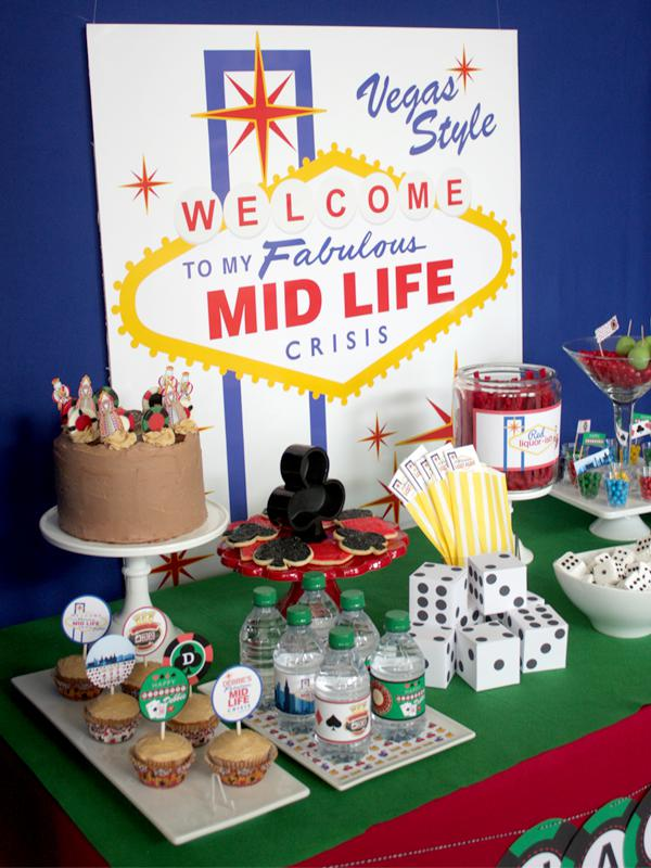 Karas Party Ideas Las Vegas Themed Birthday Party