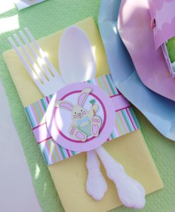 Kids' Pastel Easter Bunny Themed Brunch via Kara's Party Ideas karaspartyideas.com #easter #brunch #dinner #ideas #party #kids #bunny (8)