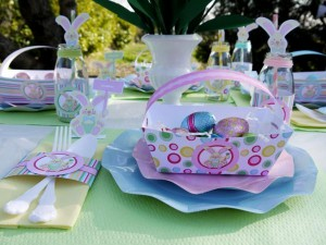 Kids' Pastel Easter Bunny Themed Brunch via Kara's Party Ideas karaspartyideas.com #easter #brunch #dinner #ideas #party #kids #bunny (7)