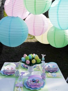 Kids' Pastel Easter Bunny Themed Brunch via Kara's Party Ideas karaspartyideas.com #easter #brunch #dinner #ideas #party #kids #bunny (5)