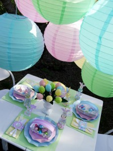 Kids' Pastel Easter Bunny Themed Brunch via Kara's Party Ideas karaspartyideas.com #easter #brunch #dinner #ideas #party #kids #bunny (4)