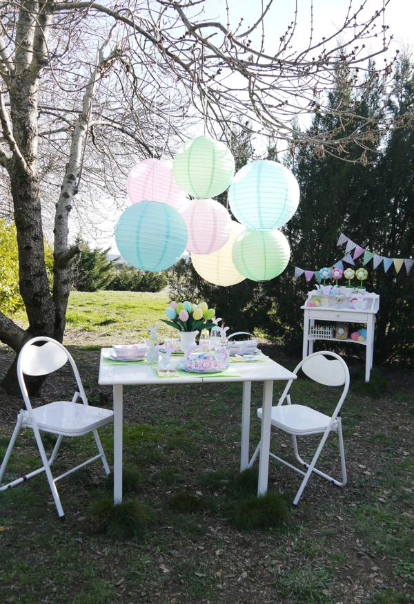 Kids' Pastel Easter Bunny Themed Brunch via Kara's Party Ideas karaspartyideas.com #easter #brunch #dinner #ideas #party #kids #bunny (3)
