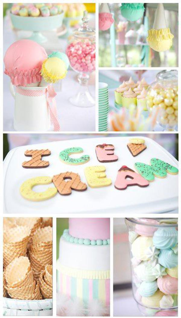 Ice Cream Shoppe Party via Kara's Party Ideas | KarasPartyIdeas.com #ice #cream #shoppe #party #ideas #summer #cake (34)